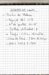 poncho de Helena